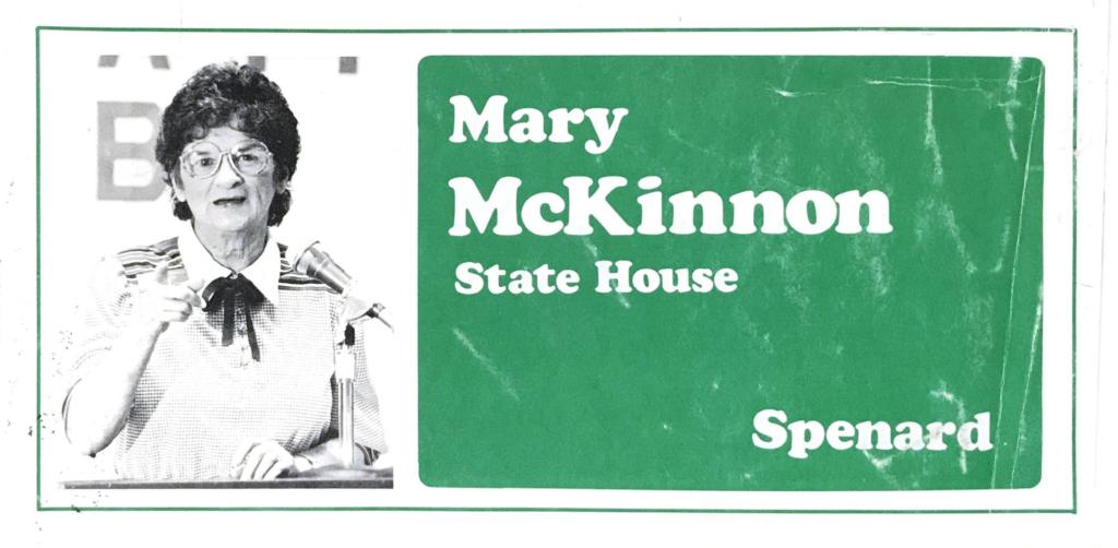 Mary McKinnon for State House Spenard Flyer